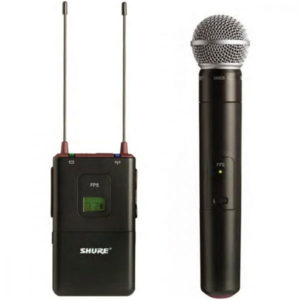 Shure Camera Microphones FP25 SM58