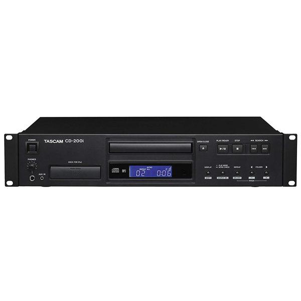 Tascam Media CD DVD Players Recorders CD 200i