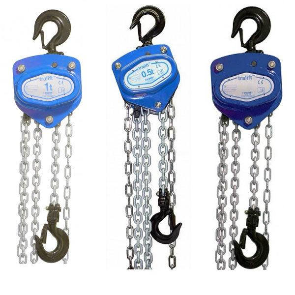 Tractel Hand Chain Hoist Tralift 250kg Tralift 500kg Tralift 1000kg