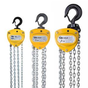 Yale Hand Chain Hoists VSIII 500kg VSIII 1000kg VSIII 2000kg