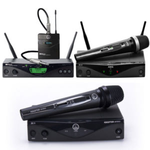 AKG Wireless System - Perception Wireless Vocal WM420 Vocal Set WMS470