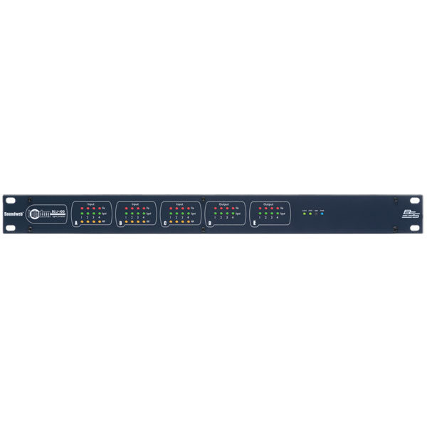 BSS Data Distro Networking - BLU-100 Signal Processor