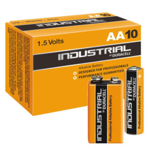 Duracell Industrial Professional Batteries AA, AAA, PP3