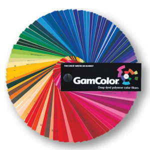 GAM GamColor Lighting Filters