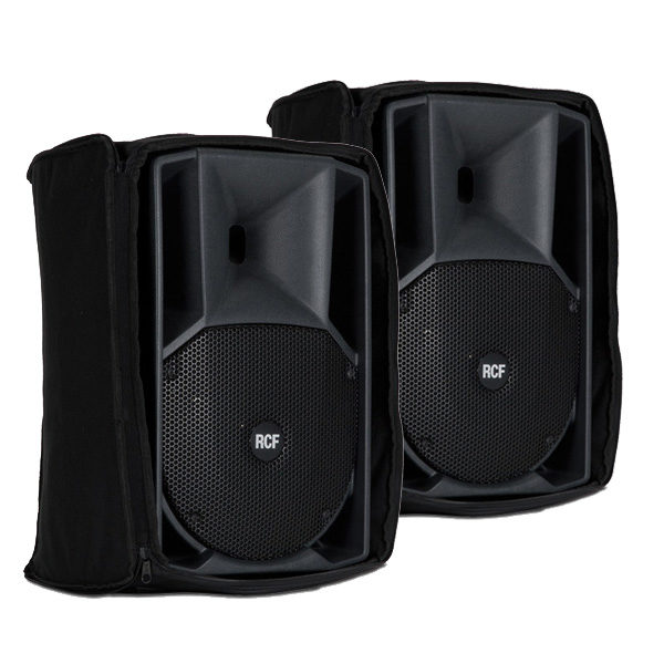 RCF ART 712A MK4 Pair of Speakers with Covers