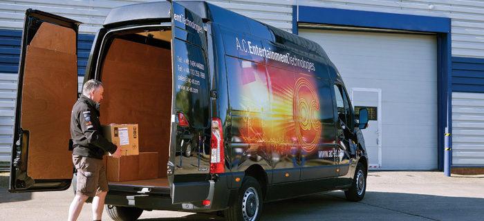 AC-ET Delivery Van