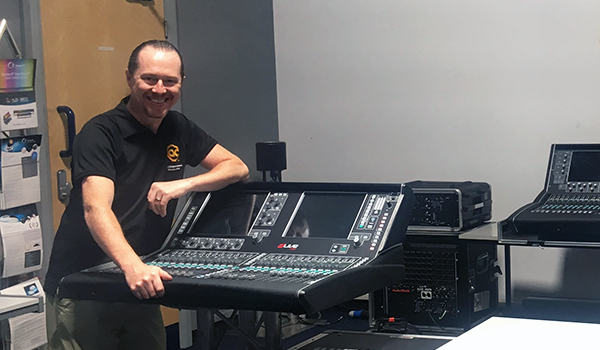 AC Audio's Steve Eaton