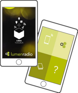 LumenRadio CRMX Toolbox app