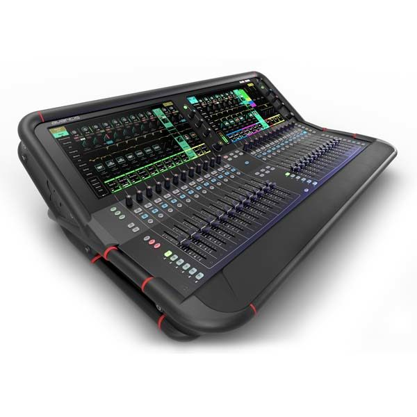 Allen & Heath Avantis 64 Channel Digital Mixing Console - front left angled view