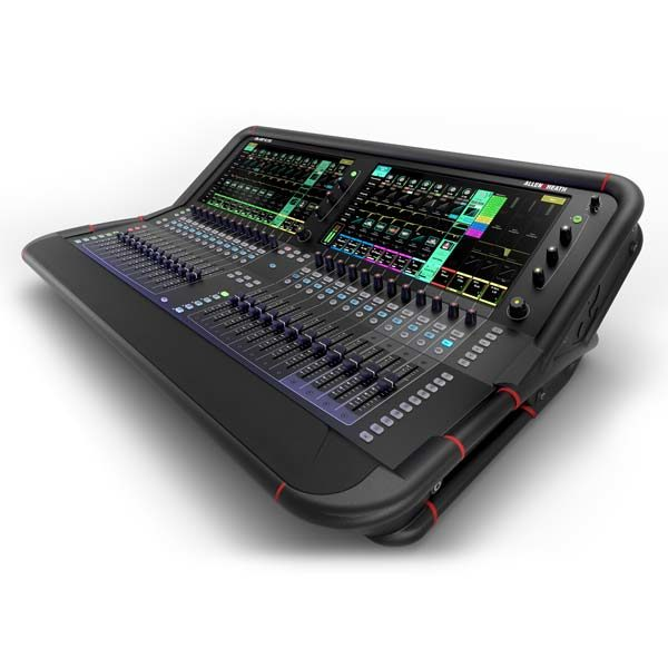 Allen & Heath Avantis 64 Channel Digital Mixing Console - front right angled view