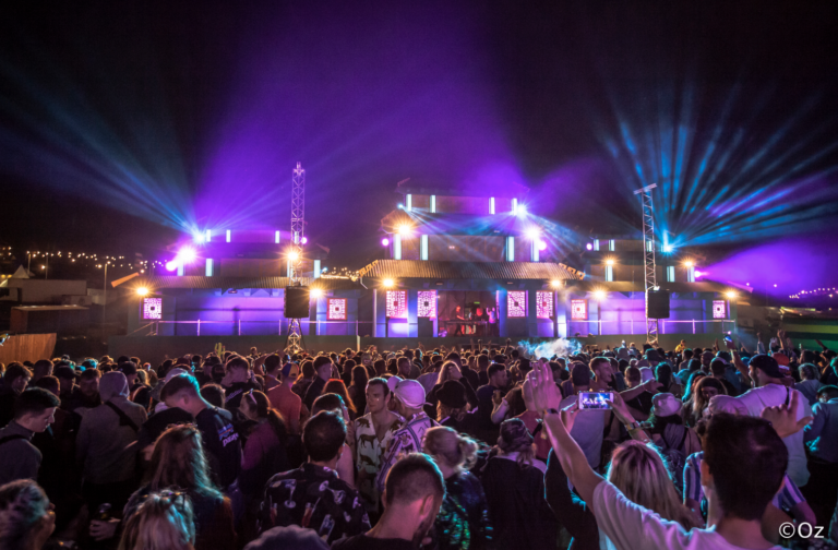 PROLIGHTS Brings Main Stage to Life in Boomtown Festival's Metropolis District